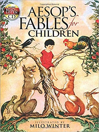 Aesop's Fables for Children: Includes a Read-and-Listen CD (Dover