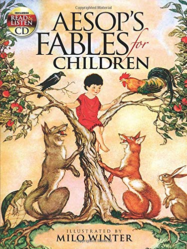 - Aesop's Fables for Children: Includes a Read-and-Listen CD (Dover Read and Listen)