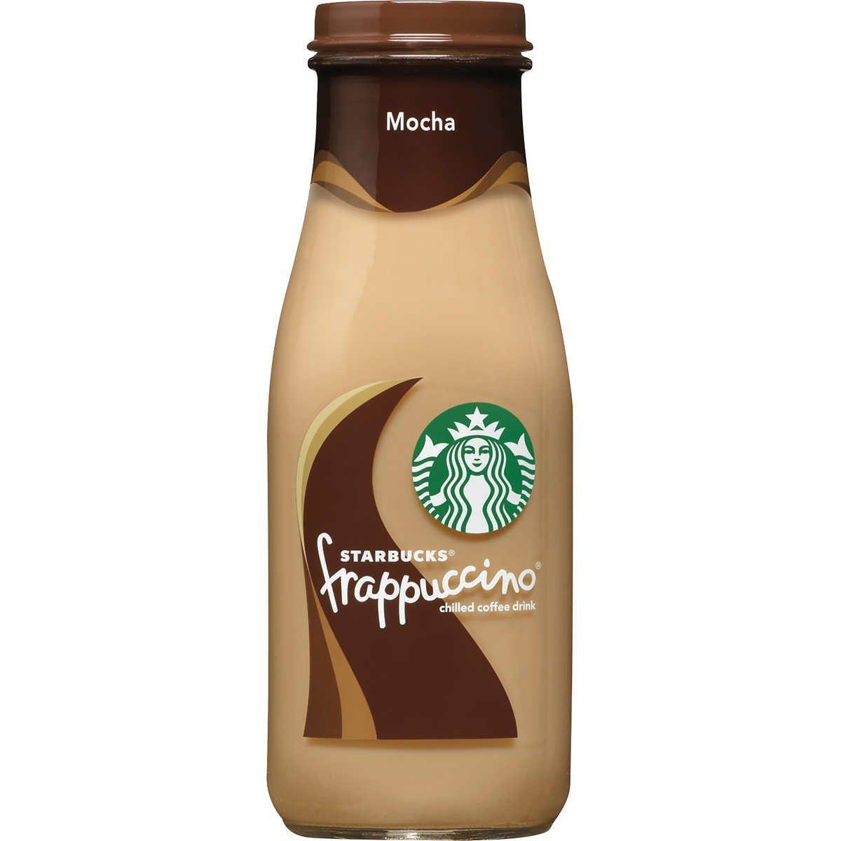Starbucks Frappuccino Coffee Drink 9.5 oz Glass Bottles (15-Pack) (Mocha)