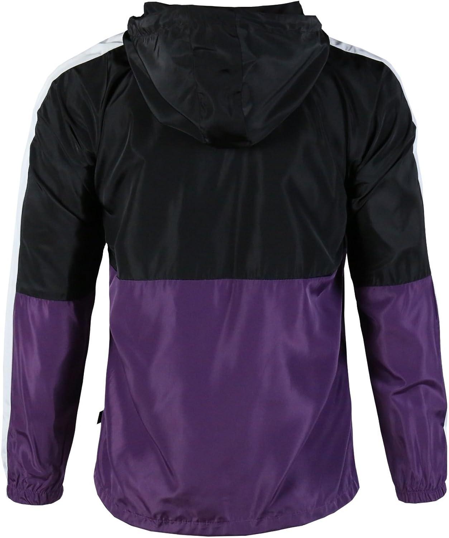 Twain Mens Water Resistant Outdoor Hooded Raincoat