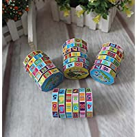 Binory Toddlers Mathematics Numbers Magic Cubes Arithmetic Cylindrical Cube Educational Math Toys, Kindergarten Educational Tools Math Blocks Learning Toy Puzzle Game Birthday Gift for Children