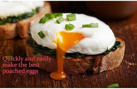 Amazon.com: Huevo de silicona cazadora - Set de 4 huevos de ...