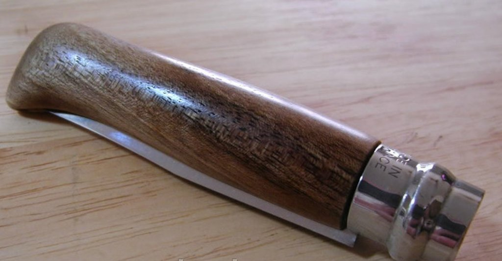 Amazon.com: Opinel - Cuchillo de bolsillo plegable (acero ...