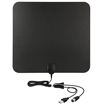 HD TV Antenna-50 Mile Range with Detachable Amplifier Signal...
