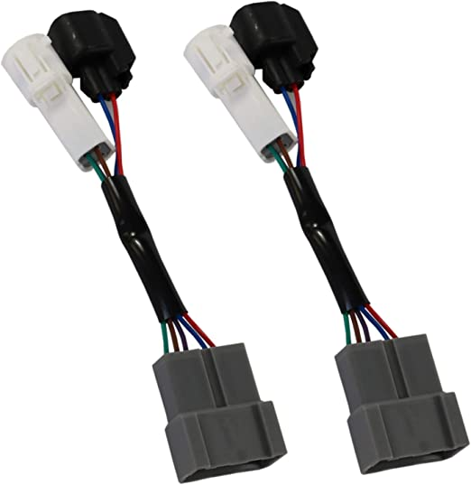 Pair Mirrors Power Heated Upgrade Harness Adapter LH and RH for 00-01 Excursion