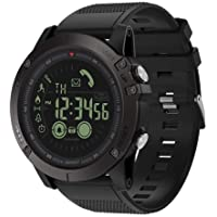 Smart Watch Rubber Band For Android & iOS,Black - VIBE 3