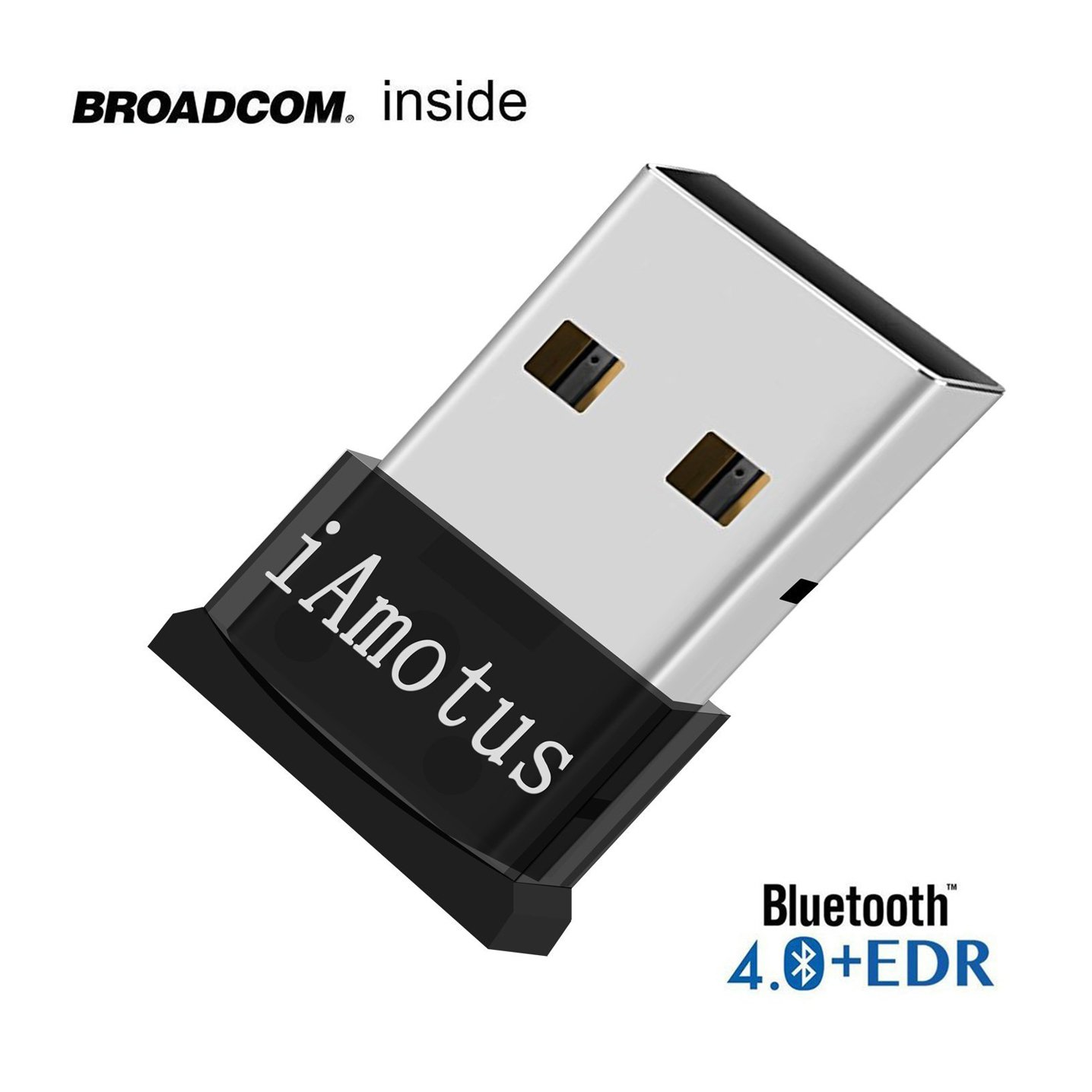 Bluetooth 4.0 USB Dongle Adapter for Windows 10 8 7 PC Mac Laptop Wireless Mouse