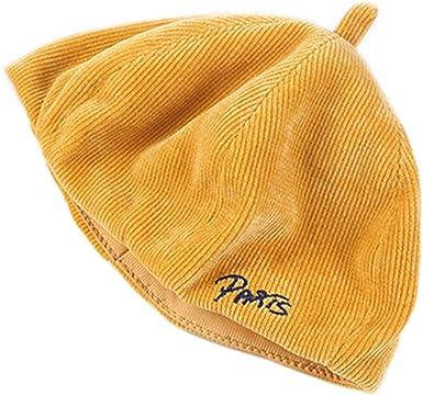 Manyo - Boina para mujer de invierno, gorro de algodón, sombrero ...