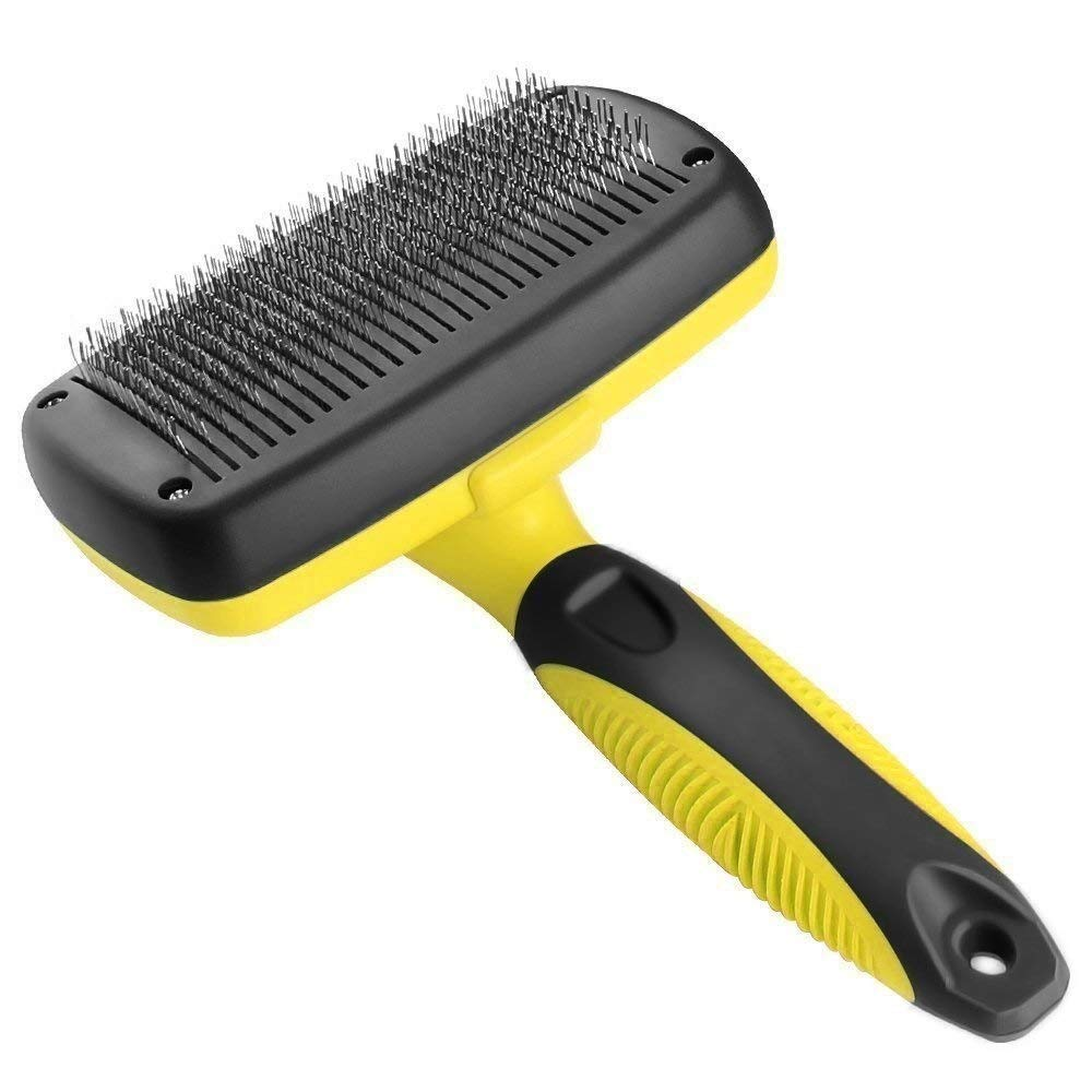 tianluo Pet Supplies Self-Cleaning Hair Dog Brush Comfortable Small Small Dog Comb pet Care Tool cat Suitable for Various Hairs by tianluo
