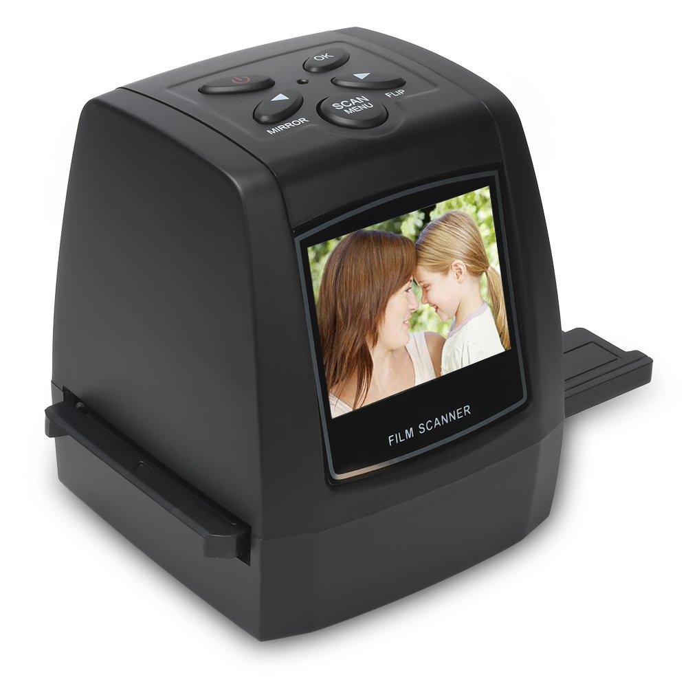 22MP All-in-1 Film & Slide Scanner, 35mm 135 110 126 and Super 8 Films/Slides/Negatives Converter