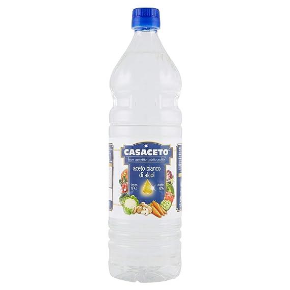 aceto bianco  Casaceto Aceto Bianco Di Alcol Ml.1000: : Alimentari e cura ...