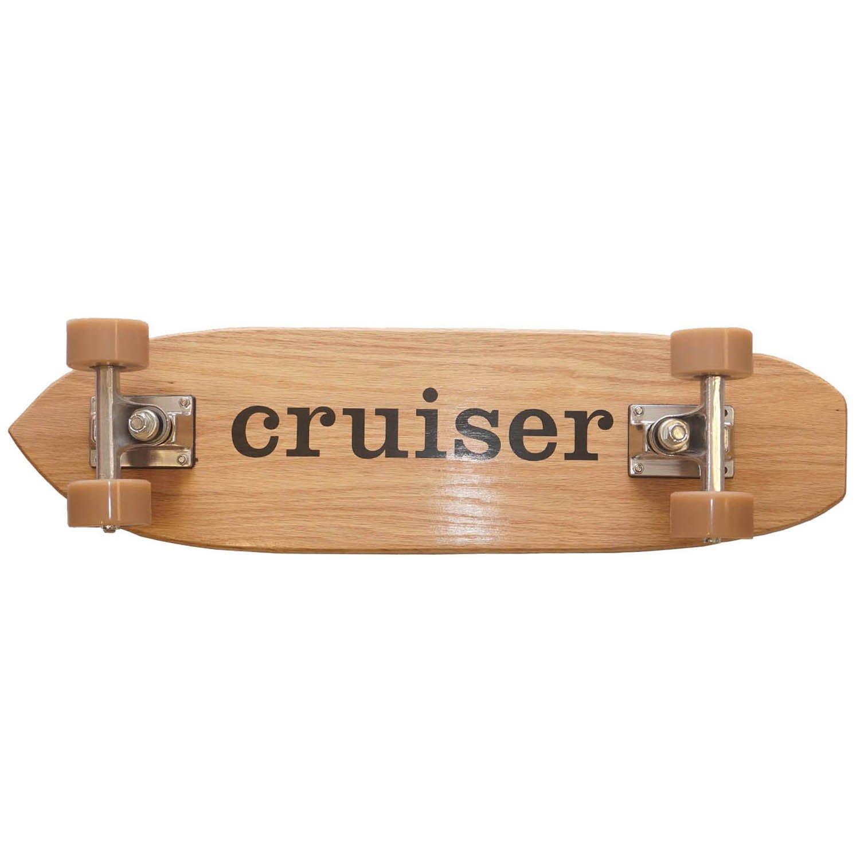 Pure Cruiser Handmade Wooden Mini Cruiser Skateboard 2425 Inch