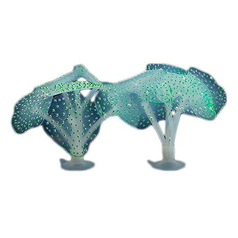 Vi.yo Planta artificial de imitación para acuario, 2 unidades, 9 x 9