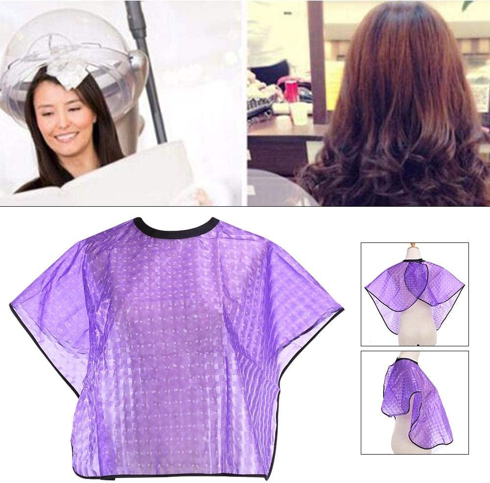 Ingeniously Hairdressing Capes Hair Cutting Cape Dustproof Waterproof Breathable Haircut Cover