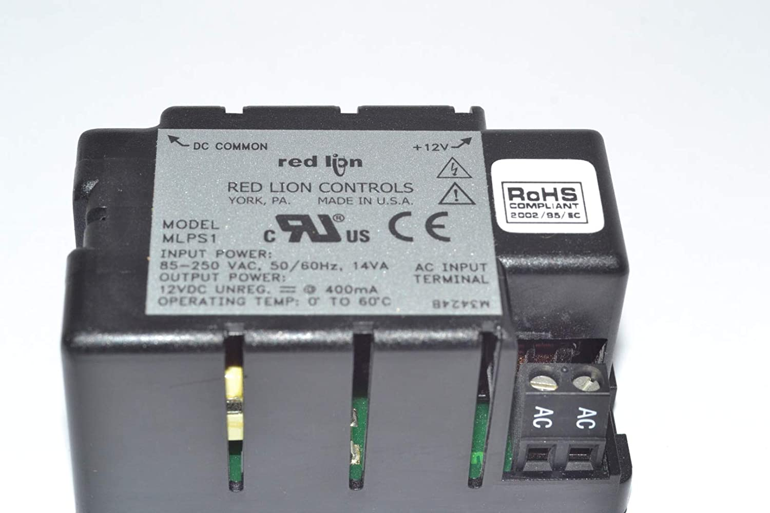 RED LION MLPS1000 POWER SUPPLY MICRO-LINE 12V