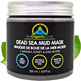 Dead Sea Mud Mask - Face & Body Deep Pore Cleansing, Acne Treatment, Anti Aging & Anti Wrinkle, Organic Natural Facial Clay M