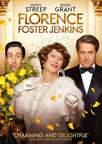 DVD : Florence Foster Jenkins (Dolby, AC-3, Widescreen, , Dubbed)