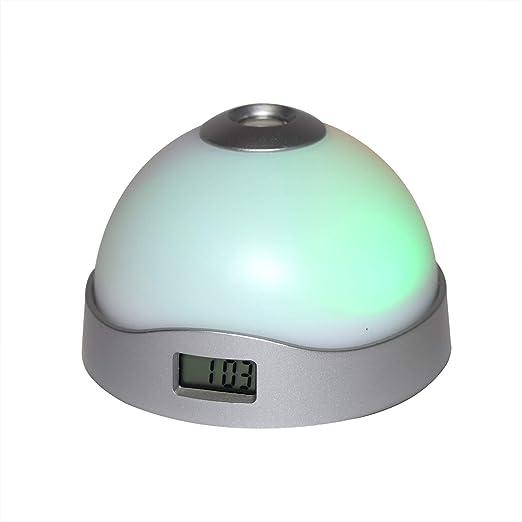 Reloj Despertador con Luz Led y Proyector: Amazon.es: Hogar