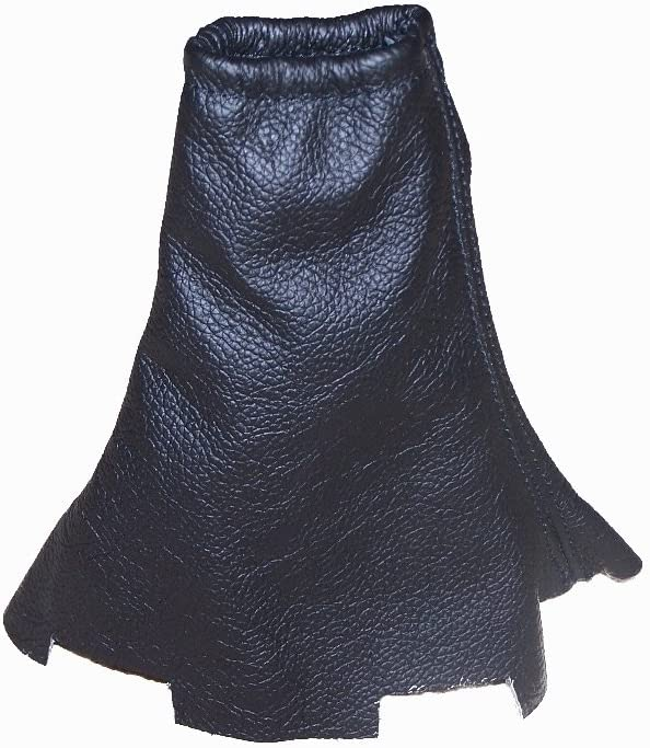 Handbrake Gaiter Black Genuine Leather