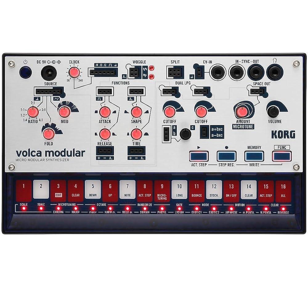 volca modular:フロントパネル