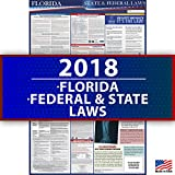 2018 Florida Employment Labor Law Poster - State & Federal Compliant - OSHA Compliant