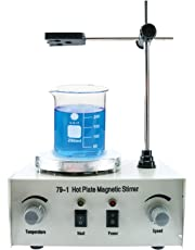 YaeCCC 1000ml Hotplate Mixer Magnetic Stirrer with Heating Plate 79-1 110V 2400rpm/min