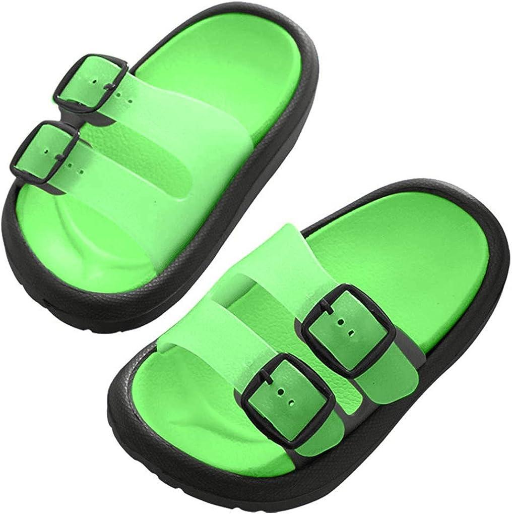 Toddler Boys Girls Clog Beach Slides Non-Slip Garden Shoes Slip On Shower Pool Slippers Shoes