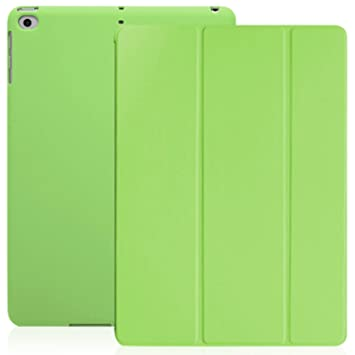 KHOMO Funda iPad 9.7 2018 y 2017 (5ta y 6ta Generación) Carcasa Ultra Delgada y Ligera con Smart Cover Apple iPad 9,7 2017 y 2018 - Verde