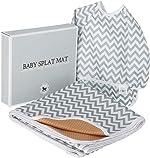 Baby Splat Mat for Under High Chair Floor Mat - Baby