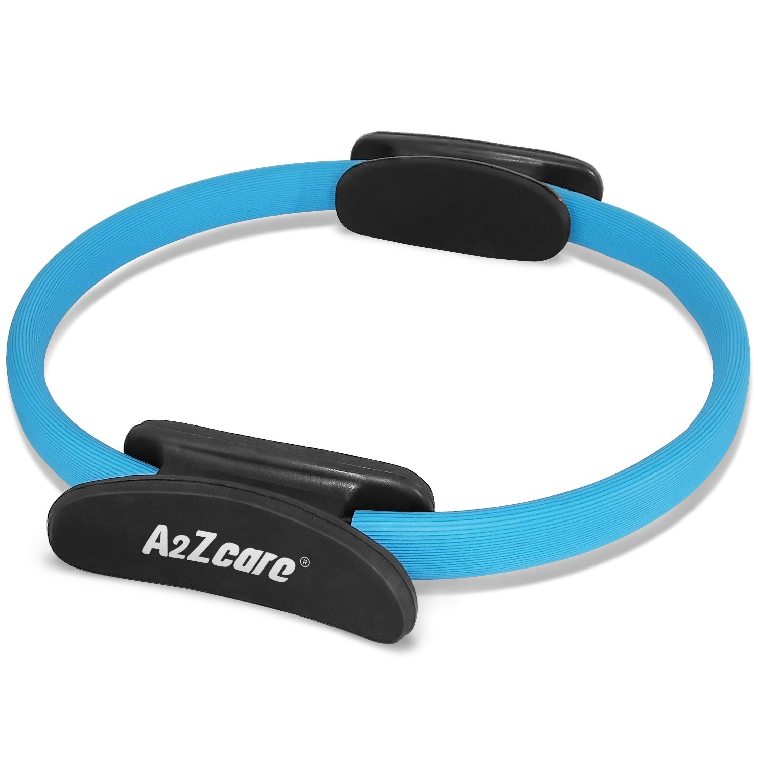 A2ZCARE Pilates Ring Magic Circle, Gym, Aerobics, Pilates, Yoga for Toning and Strengthening Thighs, Abs and Legs (12…