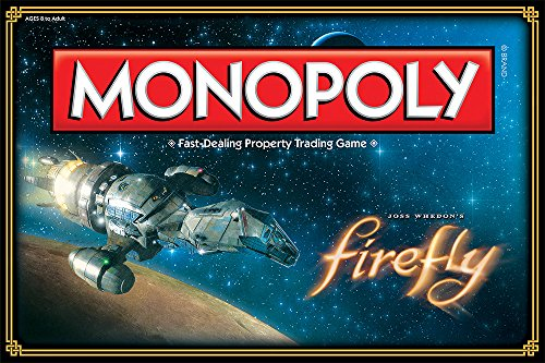 Firefly Edition Monopoly Board Game (Games Monopoly Customized)