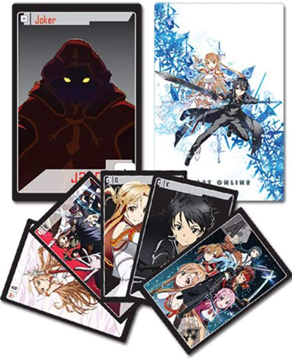 Sword Art Online Anime Playing Cards
