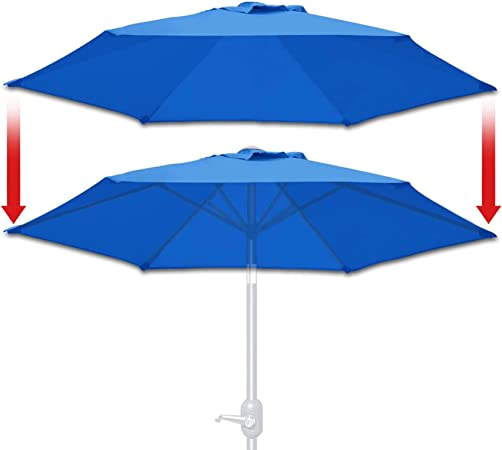 6 rib umbrella canopy replacement