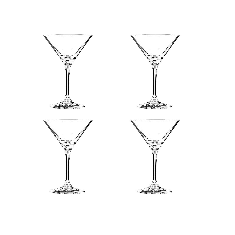 Riedel Vinum Leaded Crystal Martini Glass, Set of 4