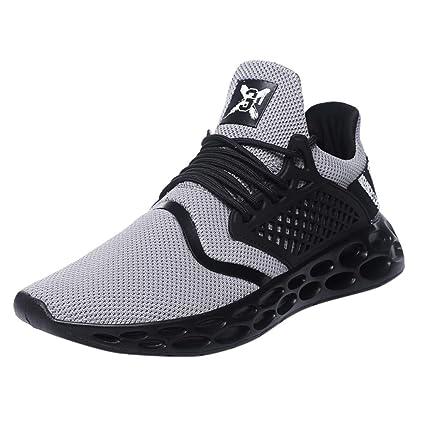 taille 7 marques reconnues chaussures de course LUNDNEY Homme Chaussure De Course Homme Chaussures De ...