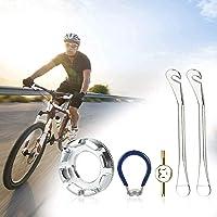 LYTIVAGEN 3 stuks fietspakensleutels, nippelspanner, spaakspanner velgensleutel met bandenheffer ventielverwijderaar…