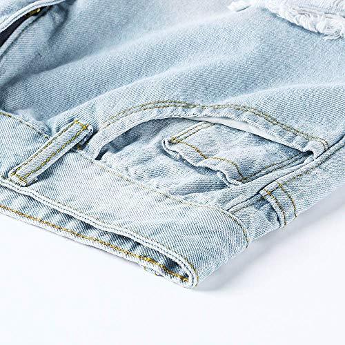 Largos Elástico Skinny Rotos Grandes High Mujer Vaqueros Vaqueros Tejanos Mujer Tallas Vaqueros Pantalones Waist Azul Casual Anchos Mujer Ajustados Altos FAMILIZO lápiz TOWUnHH