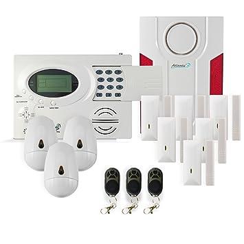 alarme maison sans fil atlantic's st iii - kit 3