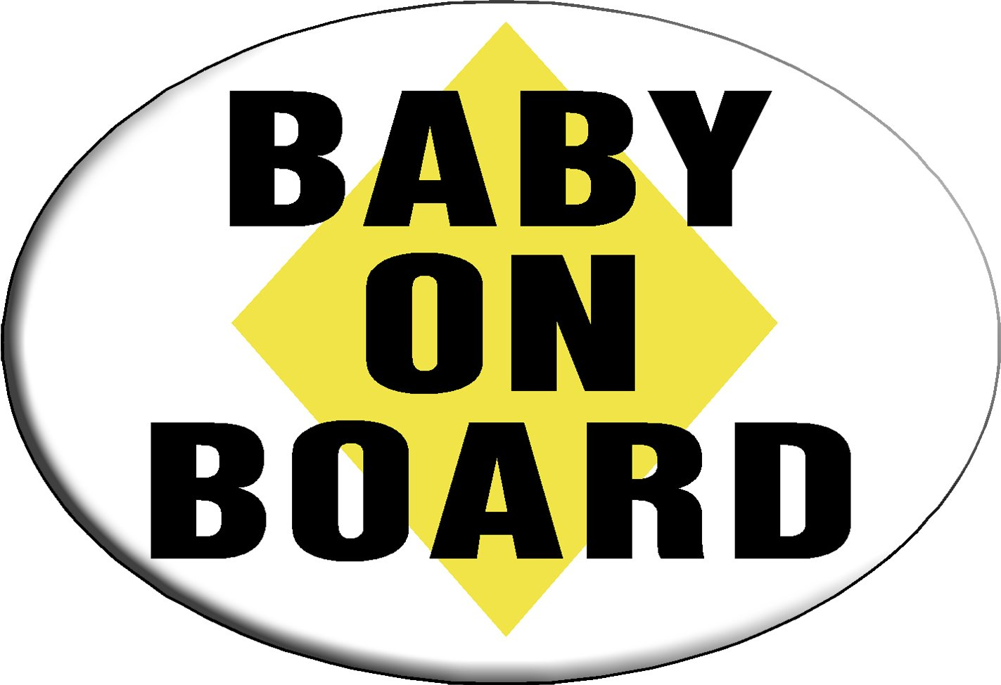 Knockout 293 Baby on Board Hitch Cover