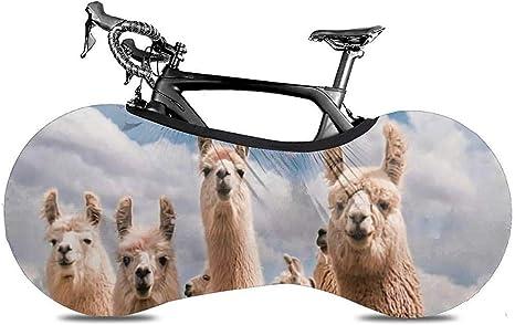 Cubierta De Bicicleta,Cute Llama Alpacas Head Happy Excelente ...