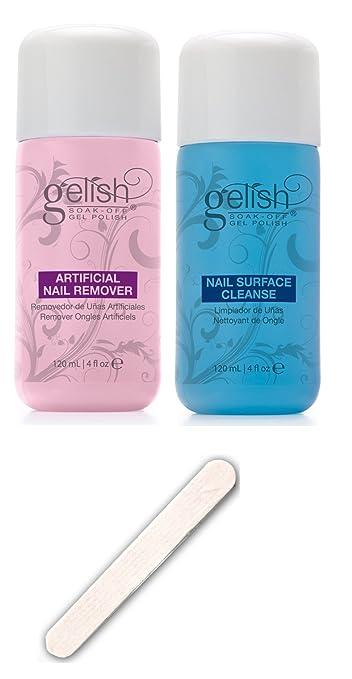 Amazon.com : NEW Gelish Soak Off Gel Nail Polish Remover & Cleanser ...