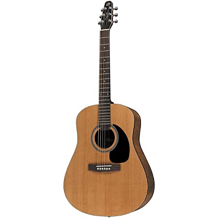 front facing seagull s6 acoustic guitar