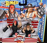 KANE & UNDERTAKER - WWE RUMBLERS TOY WRESTLING ACTION FIGURES