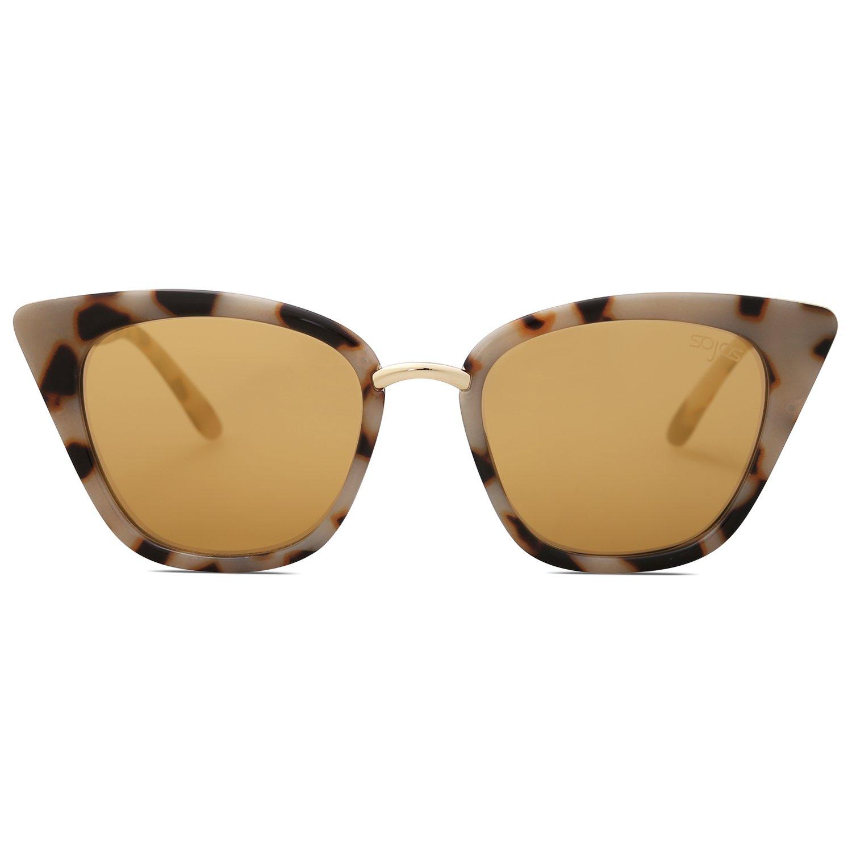 BOZEVON Donna Moda Classico Montatura Occhiali da Vista Occhiali con Lenti Trasparenti Occhio di gatto Occhiali