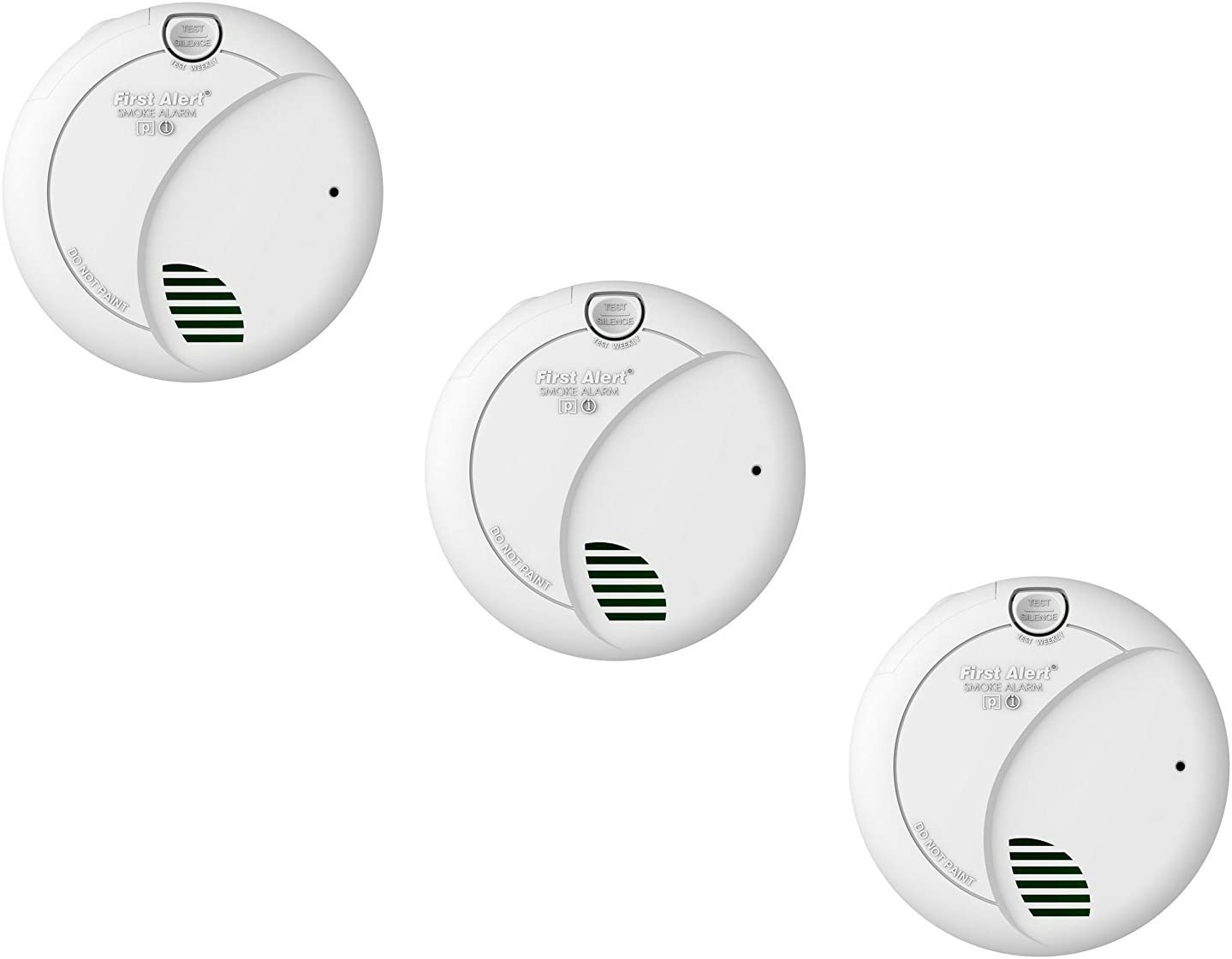 First Alert Brk 7010b Hardwire Smoke Alarm With Photoelectric
