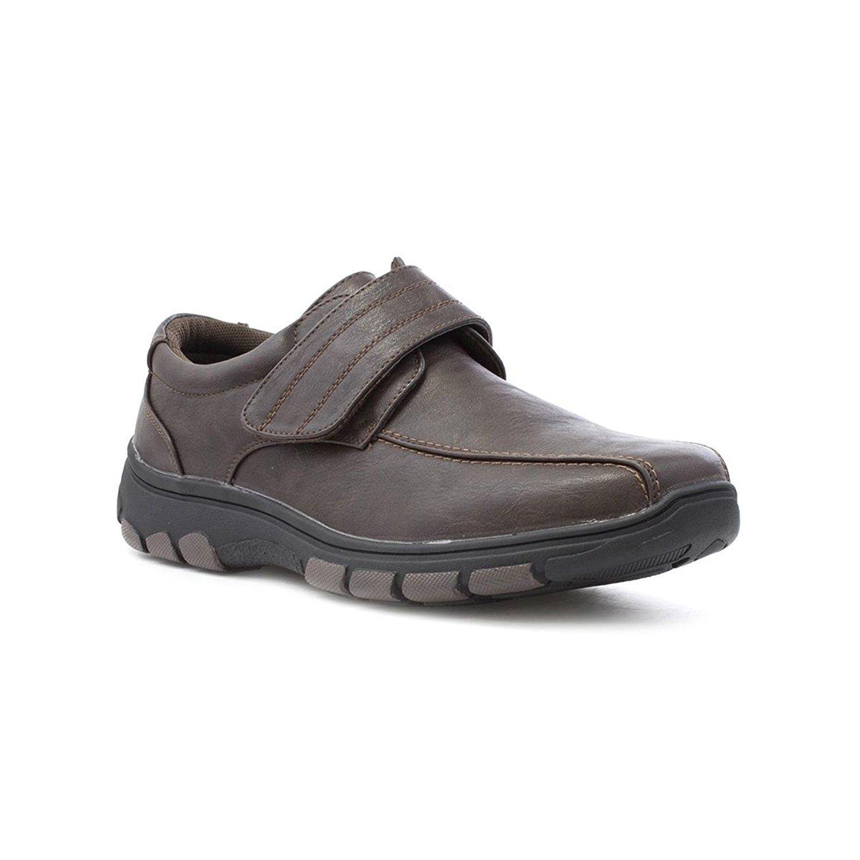 TALLA 41 EU. Zapatos de Hombres, Forrado de Cuero, Ligero, Cómodos, Con Cordones, Cin Cordones o Velcro