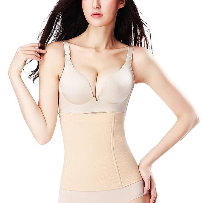 0119ed22b4f39 Zarbrina Waist Trainer Slimming Belt Women Belt Shapewear Slimming Underwear  Modeling Strap Body Shaper Belt at Amazon Women's Clothing store: