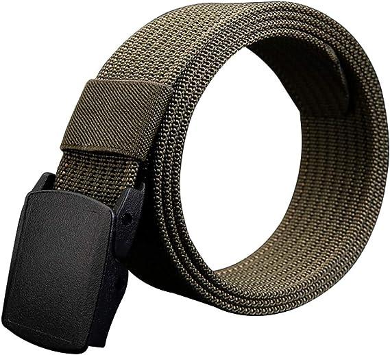 Army Green LUUFAN Cintur/ón Resistente Militar Ajustable de la Correa t/áctica de la Correa con la Hebilla del Lanzamiento r/ápido para la Actividad al Aire Libre
