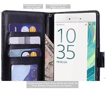 Sony Xperia X Performance Funda, Scott-ES Premium Cuero PU ...