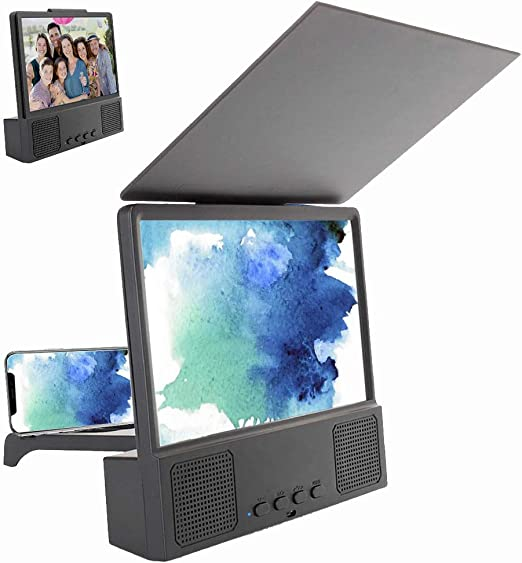 Cpippo 5-en-1 Bluetooth Spearker 3D HD Pantalla del teléfono móvil ...